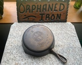 Griswold 8 Large Block Logo Cast Iron Skillet
