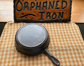 BSR 7 Red Mountain Series Cast Iron Skillet