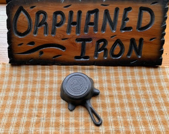 Griswold Cast Iron Advertising Skillet Ashtray