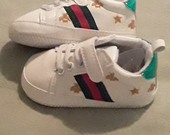 f9d7936f3 Gucci Inspired Baby Crib Shoe Size 2