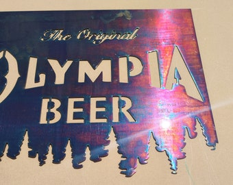 Beer sign olympia Olympia Brewery