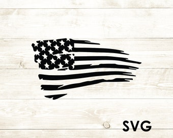American Flag Svg Etsy