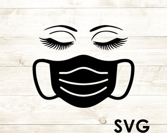 View Face Mask Svgs Background