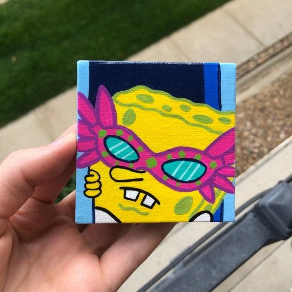 mini painting SpOnGeBoB *gasp*
