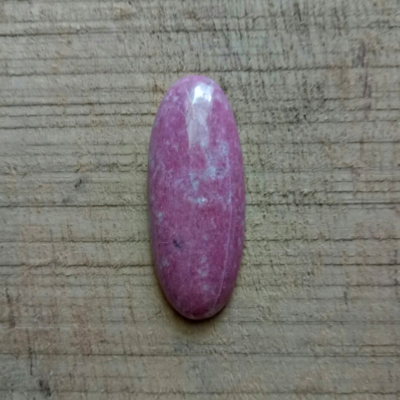 Thulite color stone Pink colour stone Natural Thulite gemstone MMsize stone Loose stone stone for jewelry