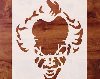 Pennywise Stencil Etsy