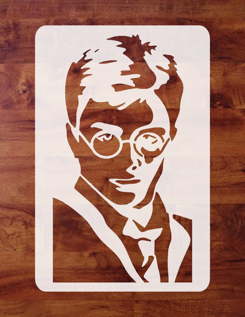 Airbrush Pick 1 of 4 Sizes Mylar Harry Potter Stencil Painting FREE SHIPPING