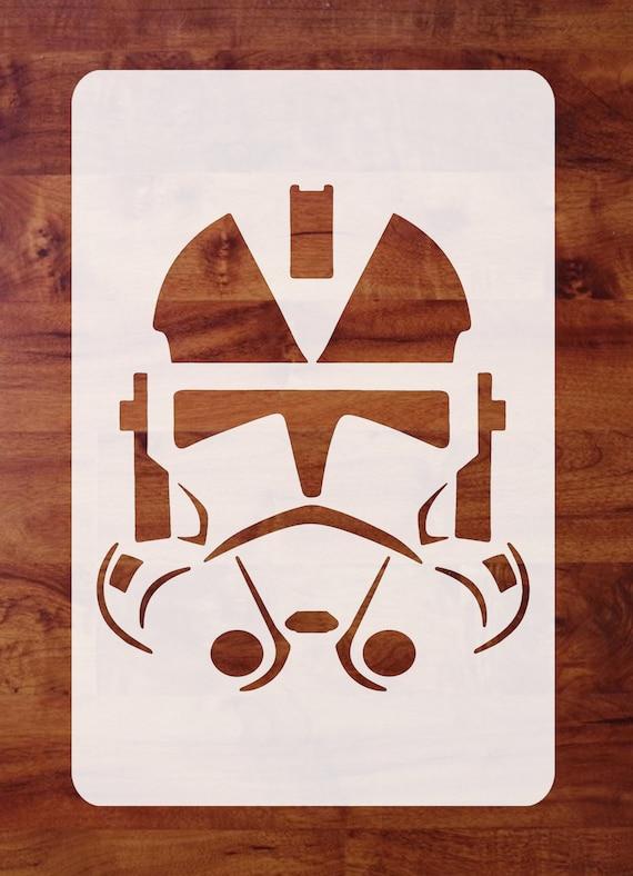 Mylar Star Wars Stencil Paint Pick 1 of 4 Sizes FREE SHIPPING Star Destroyer Death Star Airbrush