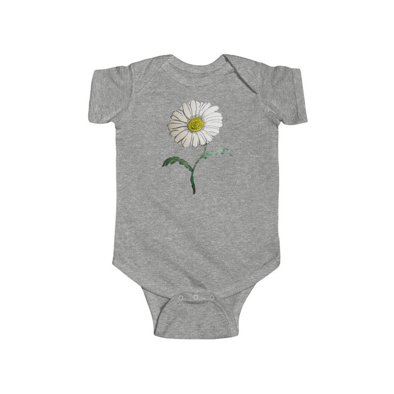 Daisy Infant Fine Jersey Bodysuit