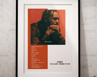 Post malone poster | Etsy