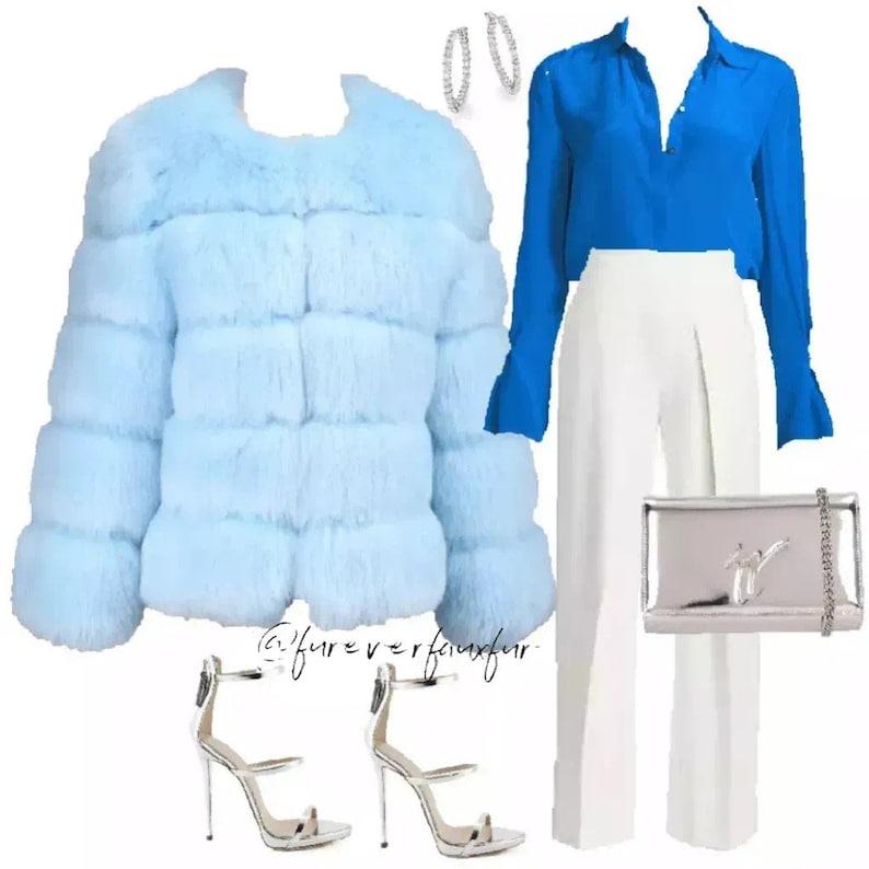 CHICAGO gray faux fur coat FUREVER Faux Fur gray fur coat womens fur coat