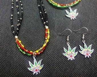 Marijuana Leaf Gypsy Goddess Barefoot Sandals By Iris Weed Pot 420 circles unique gift foot accessory boho bohemian jewelry hippie love