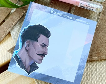 Dorian Greatly Approves Pavus Dragon Age Inquisition Notepad