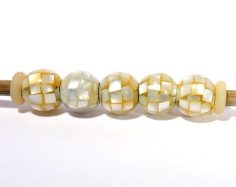 Large Hole Beads for Bracelets 10 Pcs Wonderful Quality 100/% Natural Yellow Chalcedony Gemstone Faceted 14x8mm Big Hole 5MM European Beads