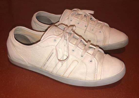 y-3 white women sneakers, yohji yamamoto, adidas s
