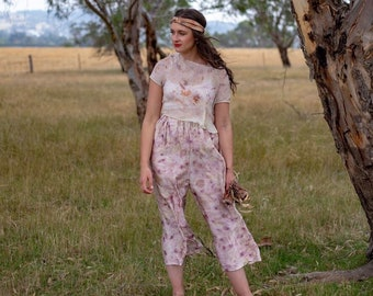 I dream of Jeanie naturally dyed culottes
