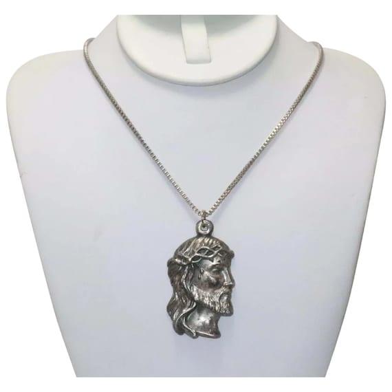Vintage Jesus Christ Necklace