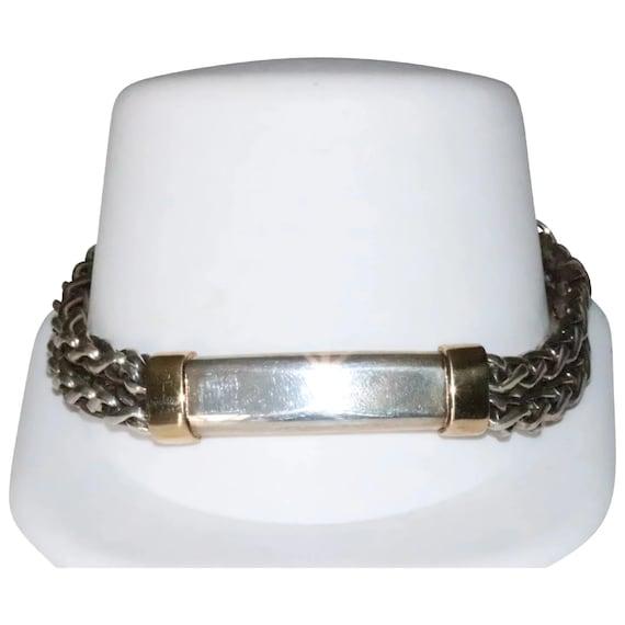 Flli Meregatti Italy 925 Sterling Silver Large Hoop Earrings