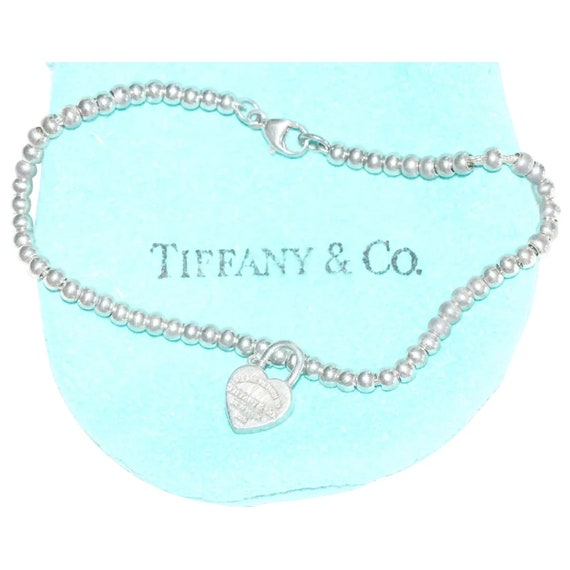 Sterling Silver Tiffany & CO Return To Tiffany Bea