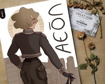 AEON vol. 1st Self-produced serial comic