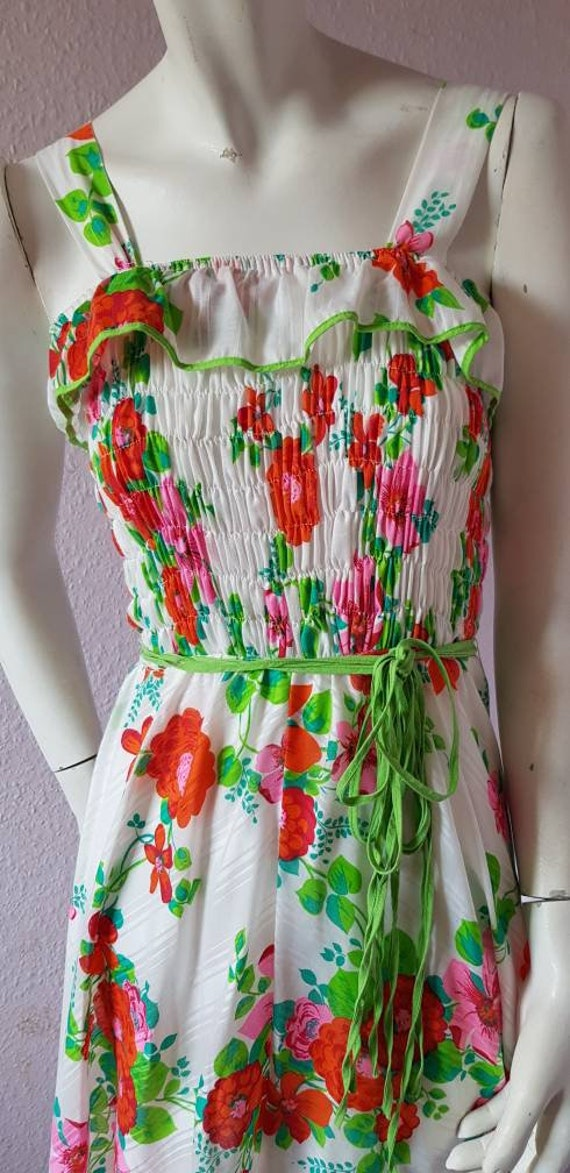 Vintage 1970s dress - stunning stripy maxi dress … - image 3
