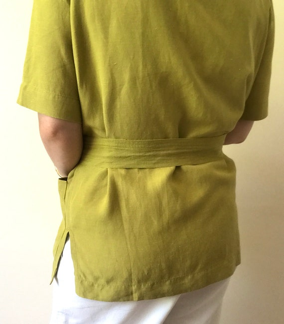 Vintage Jaeger Boxy Blouse/Jacket with Removable … - image 4