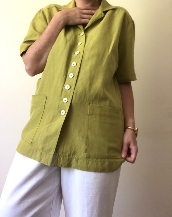 Vintage Jaeger Boxy Blouse/Jacket with Removable … - image 3