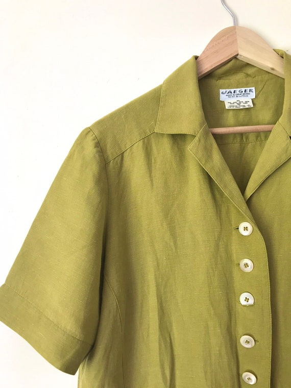 Vintage Jaeger Boxy Blouse/Jacket with Removable … - image 8