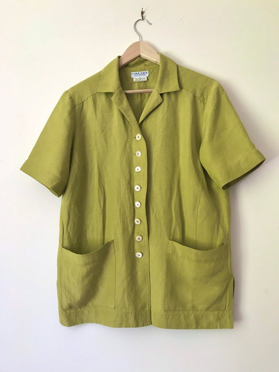 Vintage Jaeger Boxy Blouse/Jacket with Removable … - image 6