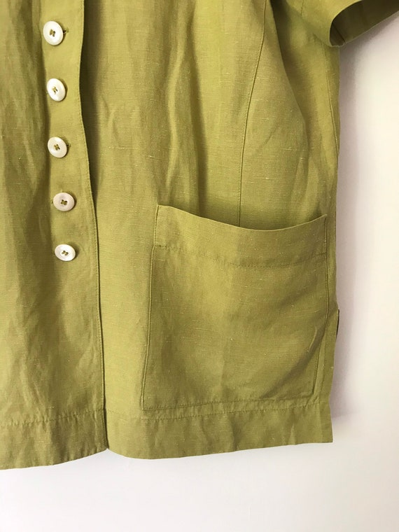 Vintage Jaeger Boxy Blouse/Jacket with Removable … - image 7