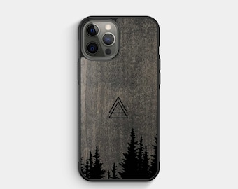 SUMMIT - Real Wood iPhone Case - iPhone 13, 12, XR - Samsung Galaxy S21, S20FE- Google Pixel 5, 4a - Made in Canada by Alto Collective
