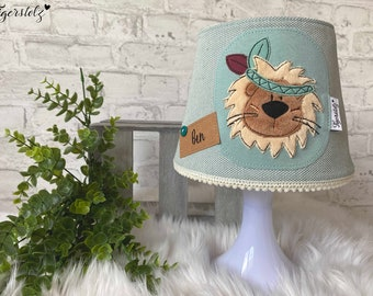 Table lamp kids - bedside lamp kids - children's lamp - nursery decoration - gift for birth - lampshade - lamp cover