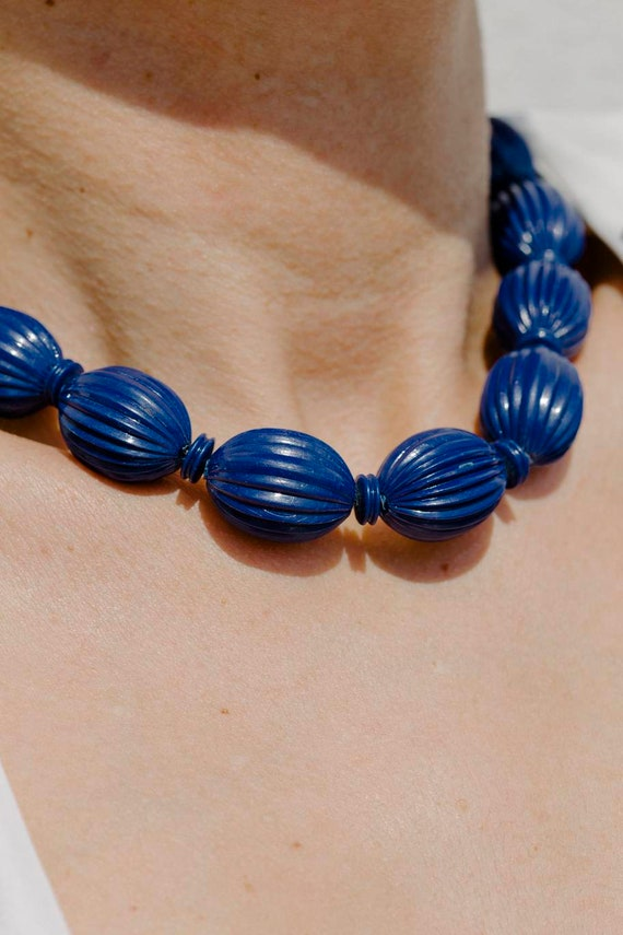 Vintage bakelite beaded necklace antique necklace