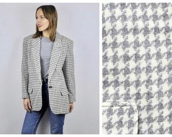 Gray tweed blazer   Etsy
