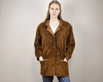 Swedish leather coat | Etsy