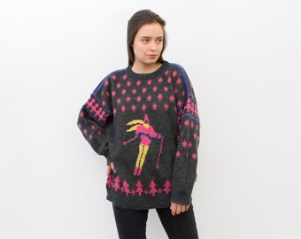 Pull-APRES SKI-Noël Ski Snowboard Party Fun Sweater S M L XL XXL