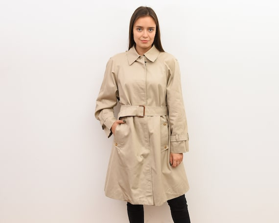 Vintage AQUASCUTUM Women's S Raincoat Trench Mac B
