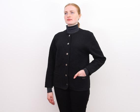 GEIGE Women's M Wool Trachten Cardigan Jacket Aust