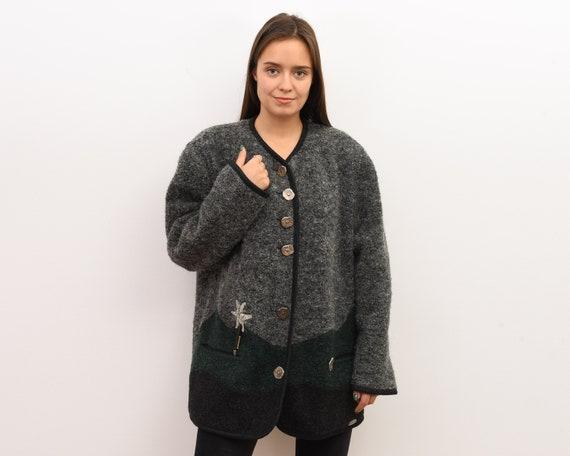 GIESSWEIN Women's XL Jacket Trachten Aplaca Mohair