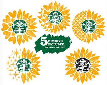 Starbucks Svg Etsy