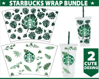 Seamless Heart Starbucks Wrap Svgstarbucks Cup Svgstarbucks Etsy