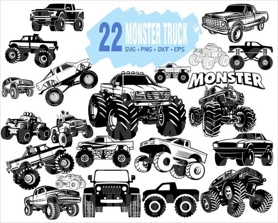 Monster Truck Svg Truck Svg Off Road Svg Jeep Svg Ford Etsy