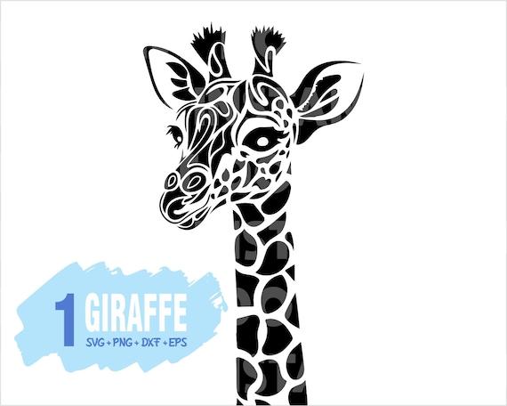Giraffe Svg Giraffe Mandala Svg Printing Design Clipart Etsy