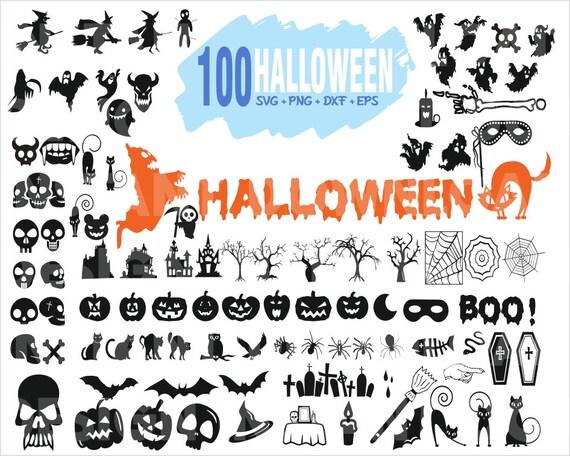 100 Halloween Svg Bundle Halloween Witch Svg File Etsy