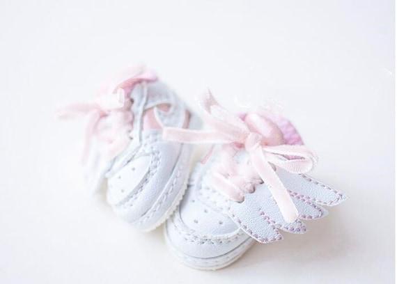 Pink Mimi Collection MSD 1//3 BJD Obitsu Doll Ribbon high heels Shoes