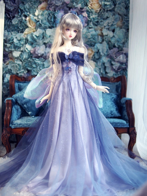 1/3 BJD Clothes Fashion Doll Clothes BJD Dress Outfit for SDGr/SD16/AS58/AS62 Girl Doll