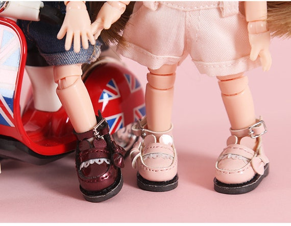 Multi 1//6 Shoes Snow Boots for 12inch Neo Blythe BJD Dollfie MSD Doll Accessory