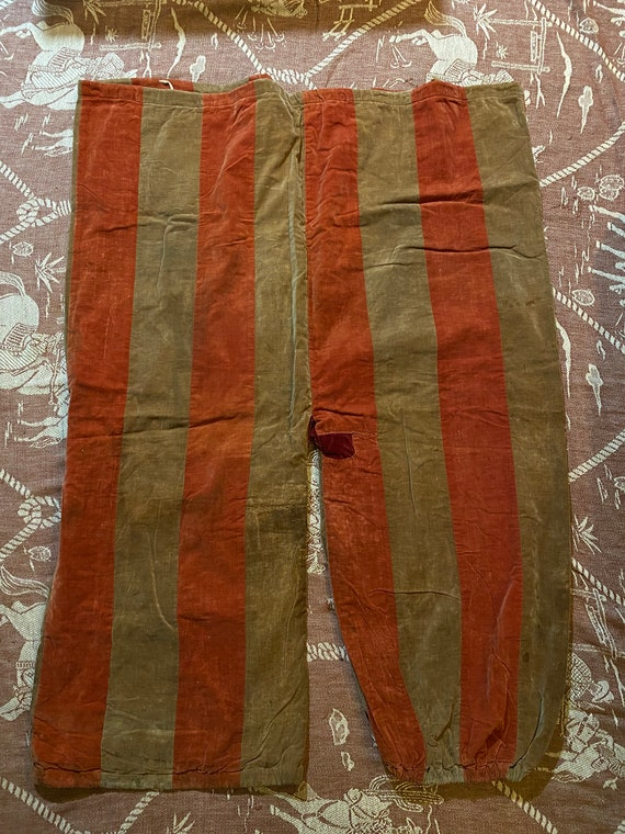 Antique 1890s Clown Pants