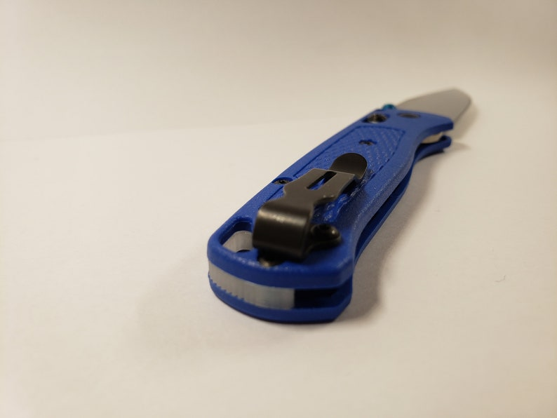 Printed PLA Backspacer ONLY Benchmade 535 Bugout Jimped Backspacer Add-On