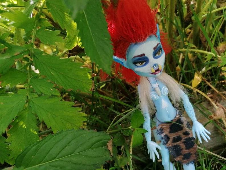 Troll ooak doll